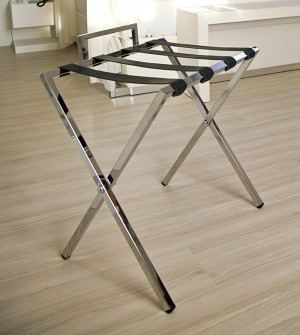 Room luggage racks with sideboard