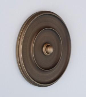 Customizable brass designer doorbell