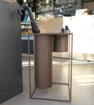 Modern iron umbrella stand
