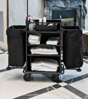 Housekeeping carts for hotels room service