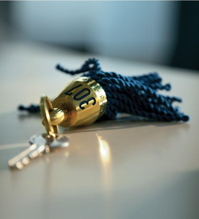 Tassel key fob