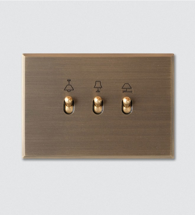 Electric switch plate