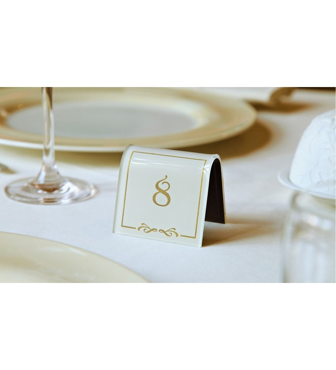 Tent table number, classic version