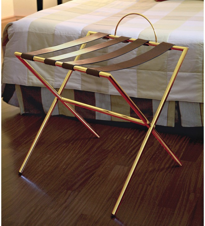 Luggage rack for suitcases