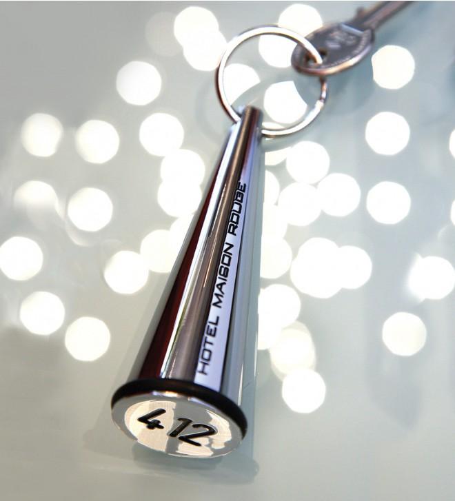 Hotel key tags