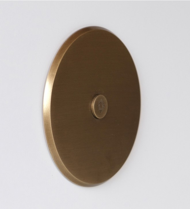 Round electric plate