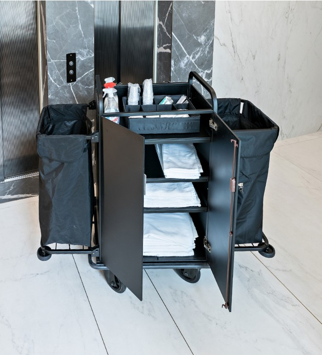 Housekeeping carts for hotels