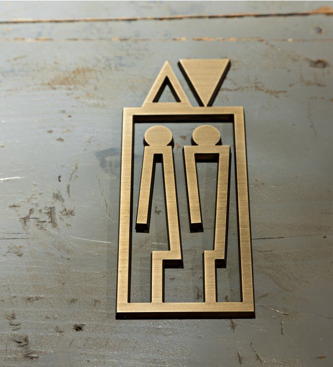 Cut symbol for indoor