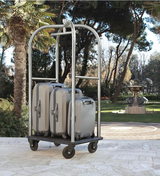 Hotel valet carts
