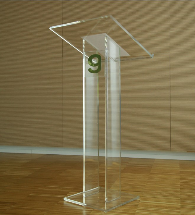 Podium with lectern