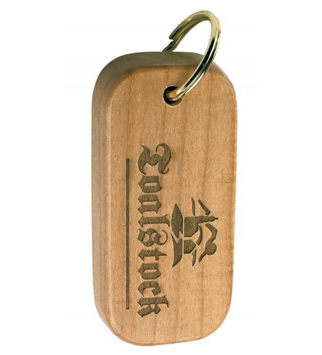 Wooden keyrings