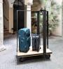 Vintage hotel luggage cart