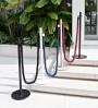 Brass barrier post