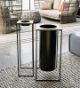 Iron ashtray stand