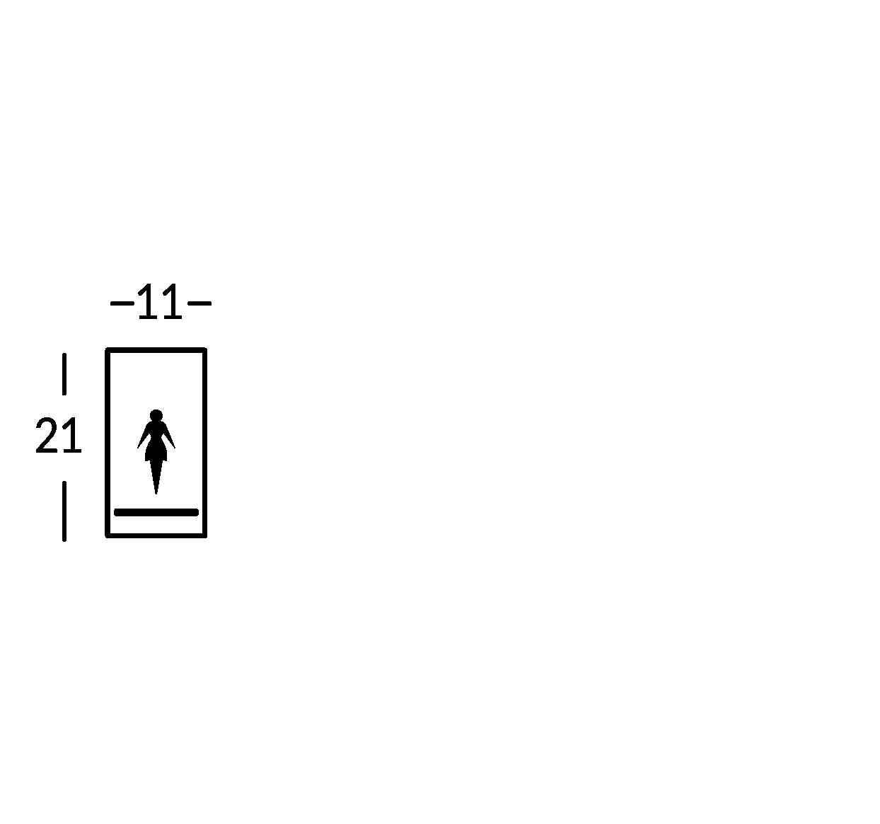 Big sign symbol
